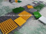 Geknirschtes Covered FRP/Fiberglass Grating/Checker Plate für Water Dränage