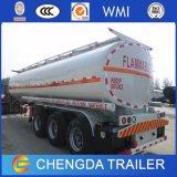 Nieuwe 45000 Liter van 50000liters die De Aanhangwagen van de Tanker van de Tank van de Stookolie Vervoer