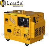 6kw 6 kVA Super Silencioso 13HP tipo de generador de gasolina con CE
