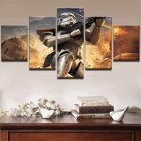 Het Af:drukken die van de Foto HD van de omlijsting op Kunstwerken 5 van het Canvas Decor van de Muur van het Huis van de Affiche van de Karakters van de Film van Star Wars van het Comité het Moderne schilderen