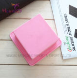 Rectangle Hand Made Soap Silicone Mould Fruit cake Mould 6*6*3cm