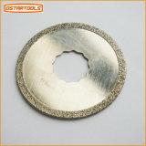 O círculo do diamante considerou a lâmina de oscilação circular do diamante da ferramenta da lâmina