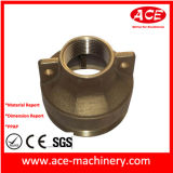 Usinagem CNC de cobre parte do Flange
