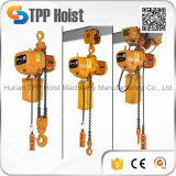 Hsy 2 Tonnen-Doppelt-Ketten-elektrischer Hebevorrichtung-Kettenriemenscheiben-Block für Verkauf