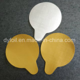 Разделенные крышки фольги стекла съемки в диаметре 46mm