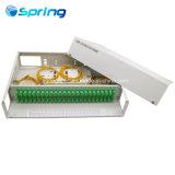 FTTH ODF montado en rack Caja de terminales de fibra óptica Patch Panel