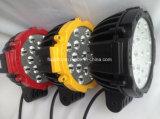 Indicatore luminoso rotondo nero rosso del lavoro del camion LED di colore giallo 7inch 51W Epistar (GT1015-51W)