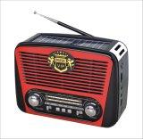 Radio portatile delle fasce di FM/Am/Sw 3 con il giocatore di musica di USB/TF/Rechargeable/Bluetooth/Solar