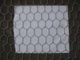 六角形の金網の網の塀のネット