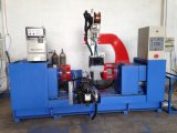 Línea de fabricación de cilindros de gas GLP circunferencial automático de costura a máquina de soldadura