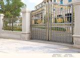 장식적인 색깔 힘 입히는 금속 정원 자동적인 문 및 담