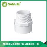 Una buena calidad Sch40 la norma ASTM D2466 un acoplador de PVC blanco de 4001