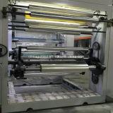 Machine d'impression à vitesse moyenne de rotogravure de 8 couleurs de Gwasy-C pour le film plastique dans 110m/Min
