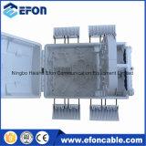 24 caixas de distribuição ao ar livre internas das fibras FTTH com 3 o divisor do PLC do PCS 1*8