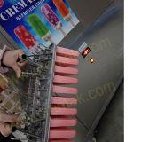 Непосредственно на заводе 4 пресс-форм Popsicle бумагоделательной машины с хорошим компрессор