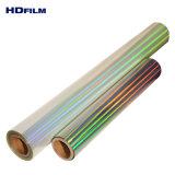 Calço de película holográfica Rainbow Pet gratuito filme holograma
