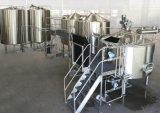 Производственная линия пива имеет высокую степень автоматизации
