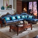 居間の家具(812A)のための革角のソファー