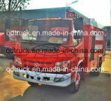 3 toneladas de coche de bomberos para la fábrica, pequeño carro de la lucha contra el fuego para la calle estrecha