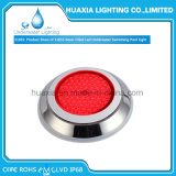 316ステンレス鋼樹脂によって満たされるLEDのプールライト水中屋外ランプ