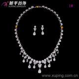 Reeks-14 het hete Vastgestelde Ontwerp van de Juwelen van het Huwelijk van de Steen van Zircon van de Luxe van de Verkoop voor Vrouwen