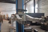 4000kg drievoudige Telescopische Duidelijke Vloer 2 de PostLift van de Auto