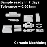 L'usinage de plaques en céramique de zircone, puce de la céramique, de la céramique bride en Chine sans moule
