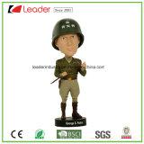 Polyresin ha personalizzato i Figurines di Bobblehead per i regali domestici del ricordo e della decorazione