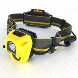 센서 크리 사람 XPE 3W +COB 3W LED Headlamp (HL-1083S)
