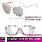 5123 bunte Sonnenbrillen der Dame-New Fashion Retro Style