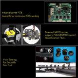 2018二重Tの鉛ねじ/フィラメントDetector/PLAのフィラメントが付いているDIY 3Dプリンター印刷プリントキットのデスクトップ3D機械
