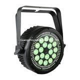 La PARITÀ del partito della lavata dello stroboscopio di Vello LED può organizzare l'indicatore luminoso (elfo Color&Strobe18 del LED)