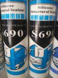 Sellante estructural del silicón con el conjunto duro (S690)
