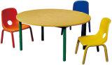 대중적인 아이 가구 판매를 위한 나무로 되는 둥근 아이 연구 결과 테이블