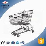 Chariot se pliant à achats de supermarché chaud de Sytle, chariots intelligents de supermarché