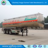 3/4 degli assi fatti in olio carburante della lega di alluminio della Cina/rimorchio del serbatoio olio della benzina/camion di autocisterna