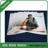 Poignée en plastique personnalisés Die Cut sac cadeau, de promotion Polybags à main
