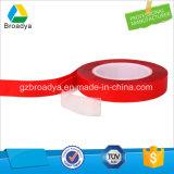 Clara de doble cara cinta adhesiva de acrílico puro (por5080G)