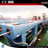 Línea de alta velocidad de la protuberancia del tubo del PVC del estirador