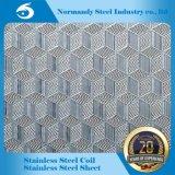 Traitant la feuille différente d'acier inoxydable de configurations gravée en relief (201 304 202)