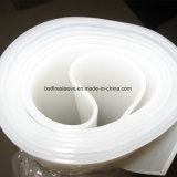 Strato trasparente della gomma di silicone di resistenza a temperatura elevata