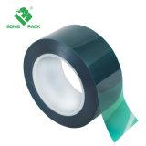 Pet resistentes al calor de la cinta Cinta de poliéster verde// la cinta de silicona para alta temperatura pegamento cubiertos