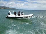Liya 7.5m Hypalon Rippen-Boots-aufblasbares Boot hergestellt in China