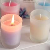 25 Stunden der brennenden Zeit-D8*H9cm Größen-Glasglas-Kerze-für Weihnachten