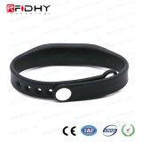 Wristband nero popolare del silicone RFID