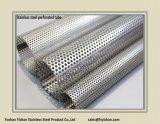 SS304 76*1.6 mmの排気のステンレス鋼の穴があいた管