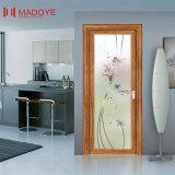 多彩なパターンが付いている従来のデザイン曇らされたガラスの洗面所のドア