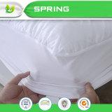 Cubierta de colchón plástica ignífuga libre del vinilo superior