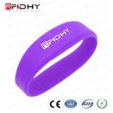 Wristband popular do silicone de MIFARE 1K RFID para o evento