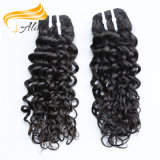 Alimina 100 % Indian Remy Hair Curly bon marché de la trame de la machine